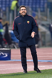 December 5, 2017 - Rome, Italy - Eusebio Di Francesco manager of Roma  during the UEFA Champions League match between Roma and Qarabag at Stadio Olimpico, Rome, Italy on 5 December 2017  (Credit Image: © Giuseppe Maffia/NurPhoto via ZUMA Press)