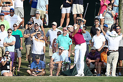May 11, 2017 - Ponte Vedra Beach, Florida, United States - Sergio Garcia tees off the 17th hole for a hole-in-one during the first round of The PLAYERS Championship at TPC Sawgrass. (Credit Image: © Debby Wong via ZUMA Wire)