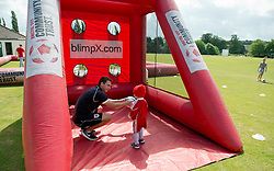 Bristol City Community Trust at Bristol City's pre-season game against Brislington FC and Keynsham Town - Photo mandatory by-line: Dougie Allward/JMP - Mobile: 07966 386802 - 05/07/2015 - SPORT - Football - Bristol - Brislington Stadium - Pre-Season Friendly