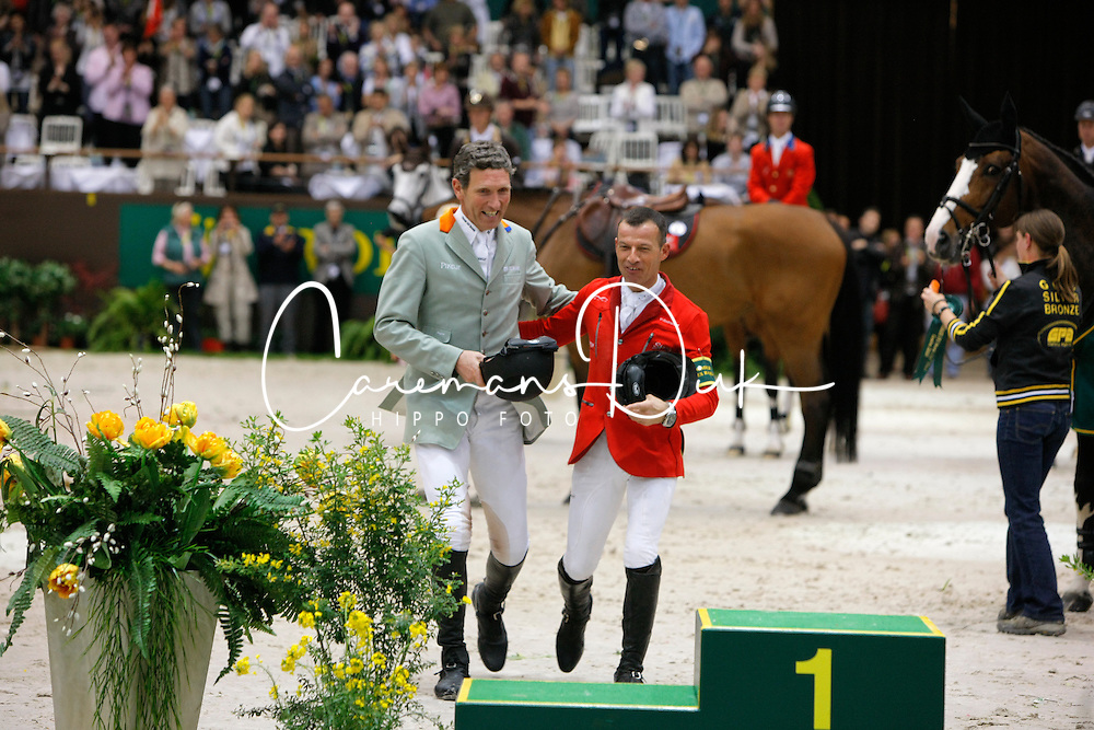 2. Schwizer PIus (SUI) and Beerbaum Ludger (GER)<br /> Rolex FEI World Cup Final - Geneve 2010<br /> © Dirk Caremans