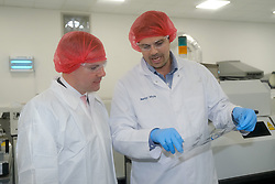 Economy Secretary visit to FlexMedical Solutions in Livingston, West Lothian<br /> <br /> Economy Secretary Derek Mackay visited FlexMedical Solutions – a specialist Scottish company that designs and develops medical equipment – on Wednesday 19 June to comment on the latest GDP statistics<br /> <br /> Pictured: Economy Secretary Derek Mackay<br /> <br /> Alex Todd | Edinburgh Elite media with CTO Murray Whyte