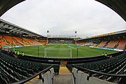 A general view of Carrow Road Stadium before the EFL Sky Bet Championship match between Norwich City and Brighton and Hove Albion at Carrow Road, Norwich, England on 21 April 2017.