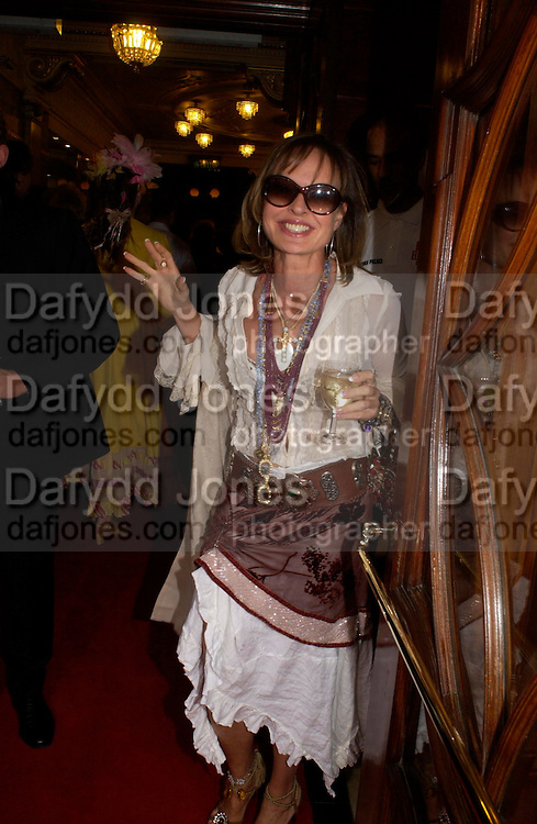 Maya Flick and her son Alex. Billy Elliot- The Musical opening night at the Victoria palace theatre and party afterwards at Pacha, London. 12 May 2005. ONE TIME USE ONLY - DO NOT ARCHIVE  © Copyright Photograph by Dafydd Jones 66 Stockwell Park Rd. London SW9 0DA Tel 020 7733 0108 www.dafjones.com