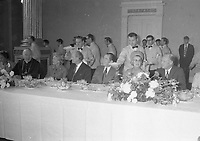 American President Richard Nixon at Dublin Castle for a Luncheon held in his Honour, circa October 1970 (Part of the Independent Newspapers Ireland/NLI Collection).