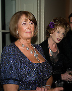 LADY ANNABEL GOLDSMITH; EDNA O'BRIEN, Nicky Haslam party for Janet de Botton and to celebrate 25 years of his Design Company.  Parkstead House. Roehampton. London. 16 October 2008.  *** Local Caption *** -DO NOT ARCHIVE-© Copyright Photograph by Dafydd Jones. 248 Clapham Rd. London SW9 0PZ. Tel 0207 820 0771. www.dafjones.com.