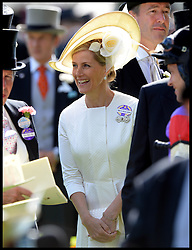 Image ©Licensed to i-Images Picture Agency. 18/06/2014. Ascot, United Kingdom. The Countess of Wessex  on Day 2 of Royal Ascot at Ascot Racecourse. Picture by Andrew Parsons / i-Images