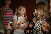 Susannah Wise, First night party after the opening of Rabbit by Nina Raine at the Old Red Lion Theatre, Islington. Groucho Club. 18 June 2006. ONE TIME USE ONLY - DO NOT ARCHIVE  © Copyright Photograph by Dafydd Jones 66 Stockwell Park Rd. London SW9 0DA Tel 020 7733 0108 www.dafjones.com