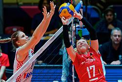 09–01-2020 NED: Olympic qualification tournament women, Apeldoorn<br /> Croatia - Belgium / /Ilka Van De Vyver #17 of Belgium