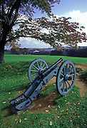 Image of a historic cannon at Valley Forge National Historical Park, Pennsylvania, American Northeast