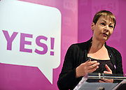 licensed to London News Pictures. LONDON UK. 27/04/11. Caroline Lucas. A News conference held today (27 April 2011) in Church House, London. The conference was introduced by Katie Ghose with Lib Dem President Tim Farron, Green Party Leader Caroline Lucas, UKIP leader Nigel Farage and  Labour's  Alan Johnson, supporting a Yes for the Alternative Vote. Photo credit should read Stephen Simpson/LNP