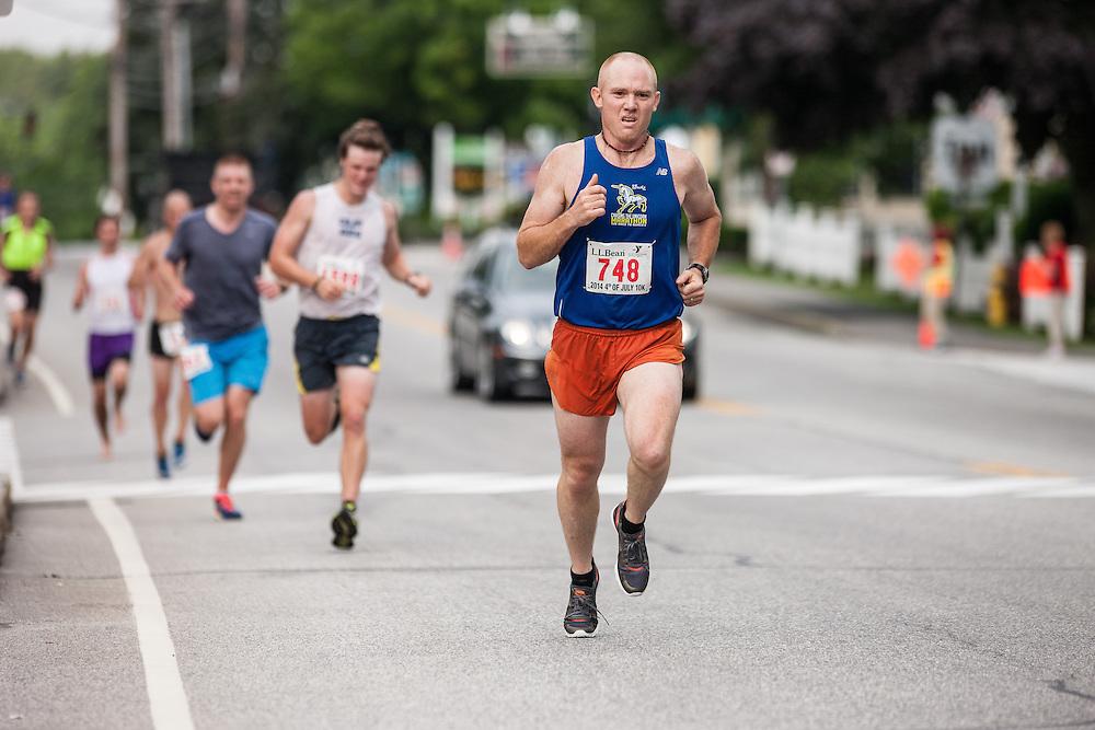 LL Bean Fourth of July 10K road race: Clint Joslyn