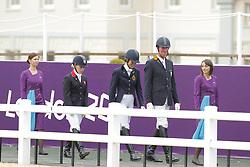 Hosmar, Frank;<br /> George, Michele;<br /> Wells, Sophie, <br /> London Paralympics 2012<br /> Grade IV<br /> © www.sportfotos-lafrentz.de/ Stefan Lafrentz