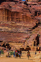 Petra Archaeological Park (a UNESCO World Heritage Site), Petra, Jordan.