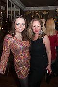 ELIZABETH JONES; EVA HAROLD, Eva Harold birthday party. Ballroom, Beach Blanket Babylon. Notting Hill, London. 19 November 2012.