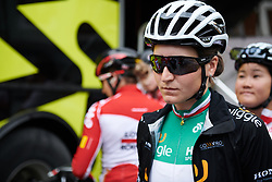 Elisa Longo Borghini (ITA) makes her way to sign on at Emakumeen Bira 2018 - Stage 3, a 114.5 km road race starting and finishing in Aretxabaleta, Spain on May 21, 2018. Photo by Sean Robinson/Velofocus.com