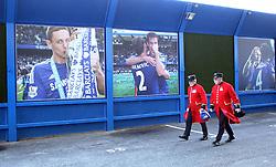 Chelsea Pensioners arrive at Stamford Bridge - Mandatory byline: Robbie Stephenson/JMP - 07966 386802 - 21/11/2015 - FOOTBALL - Stamford Bridge - London, England - Chelsea v Norwich City - Barclays Premier League