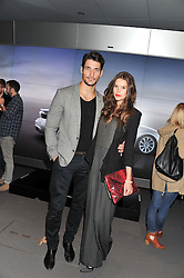 DAVID GANDY and SARAH ANN MACKLIN at the Global Launch of Audi's first Digital Showroom, 74-75 Piccadilly, London on 16th July 2012.