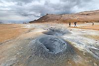 Námaskarð is a geothermal area near Mývatn, northeast-Iceland.
