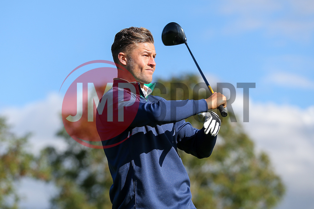 James Clarke of Bristol Rovers joins team Lupi Solitari as they take part in the annual Bristol Rovers Golf Day - Rogan Thomson/JMP - 10/10/2016 - GOLF - Farrington Park - Bristol, England - Bristol Rovers Golf Day.