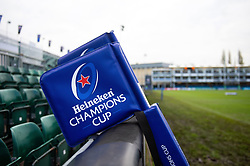 Heineken Champions Cup corner flags - Mandatory byline: Patrick Khachfe/JMP - 07966 386802 - 16/11/2019 - RUGBY UNION - The Recreation Ground - Bath, England - Bath Rugby v Ulster Rugby - Heineken Champions Cup