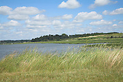 Marsh shore of River Deben, Methersgate, Suffolk, England
