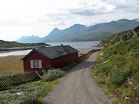 Utsikt over Bygdinvannet knappe to timers gange fra Valdresflya. FOTO: TOM HANSEN
