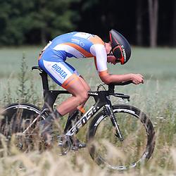 21-06-2017: Wielrennen: NK Tijdrijden: Montferland  s-Heerenberg (NED) wielrennen  <br /> Beloften <br /> Yannick Vrielink (Zutphen) Kanjers voor Kanjers