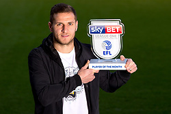Billy Sharp of Sheffield United wins the Sky Bet League One Player of the Month award - Mandatory by-line: Robbie Stephenson/JMP - 09/03/2017 - FOOTBALL - Brammall Lane - Sheffield, England - Sky Bet Player of the Month Award