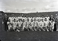 1957 Waterford team from the All Ireland final (Part of Independent Newspapers Ireland/NLI Collection)