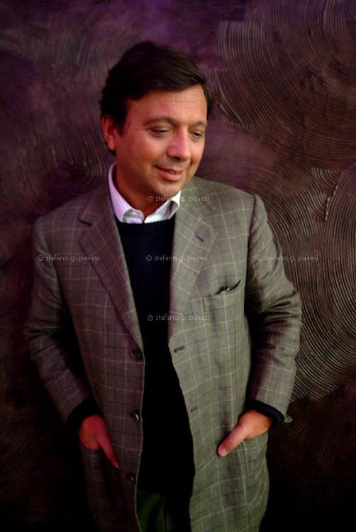 The comic actor and tv host Piero Chiambretti