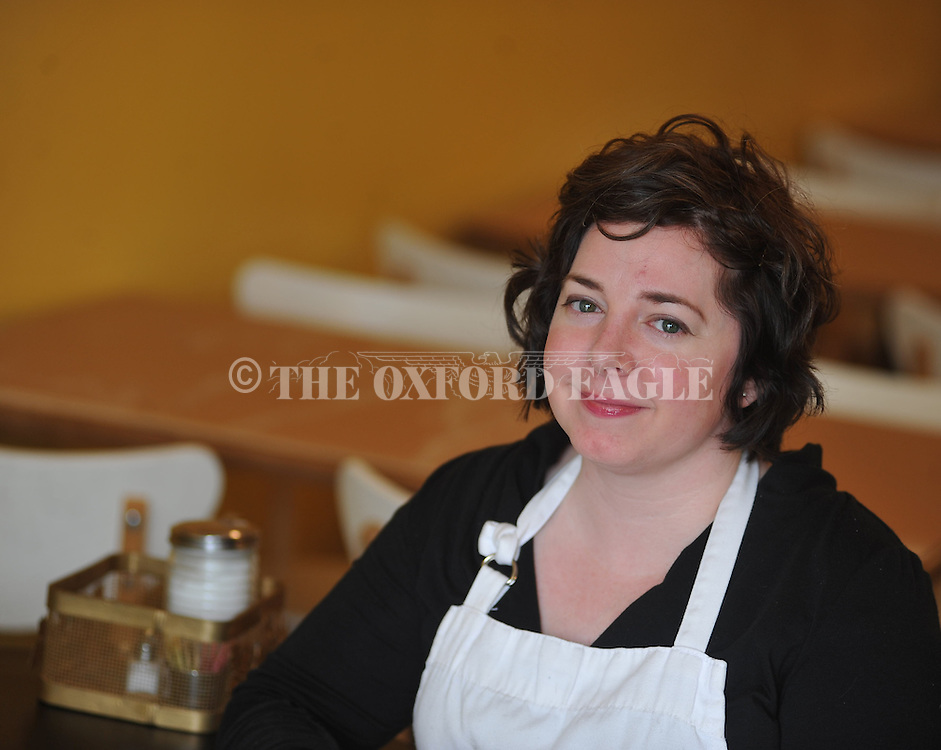 Shannon Adams, at Honey Bee Bakery in Oxford, Miss. on Tuesday, April 23, 2013.