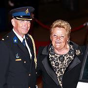 NLD/Amsterdam/20110527 - 40ste verjaardag Prinses Maxima, Erica Terpstra en agent de heer Rob van der Veen