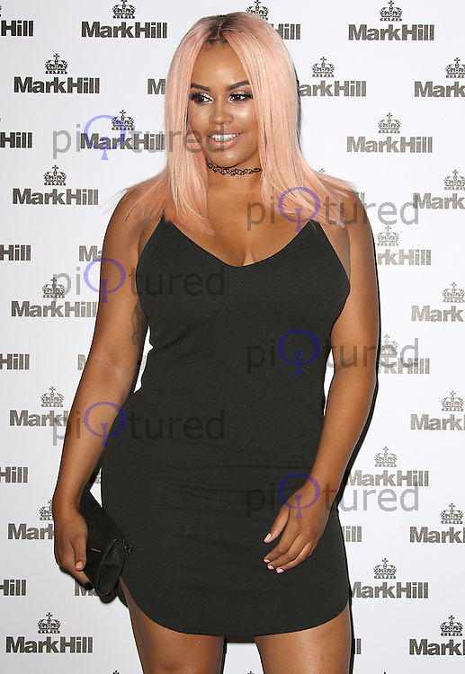 Lateysha Grace, Mark Hill - Pick 'N' Mix Party, The Ice Tank, London UK, 27 July 2016, Photo by Brett D. Cove