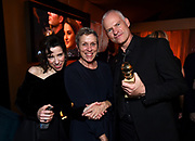 Sally Hawkins, from left, Frances McDormand, and Martin McDonagh attend FOX 2018 Golden Globes After Party at The Beverly Hilton on Sunday, January 7, 2018, in Beverly Hills, Calif. (Photo by Jordan Strauss/JanuaryImages/Invision/AP)