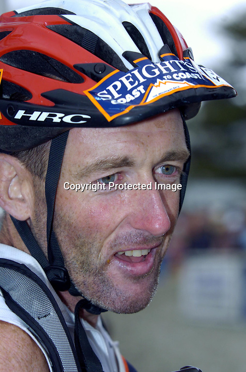 07/02/2004 <br /> Speights coast to coast, longest day.<br /> Winner of the longest day, mens individual, George Christison, Hawkes Bay <br /> SPORT<br /> Photo by JOHN COWPLAND / PHOTOSPORT
