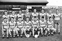 Donegal v Dublin All Ireland Senior football final 20/9/1992. Donegal won. The Donegal Team  (Part of the Independent Ireland Newspapers/NLI Collection