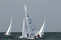 Star World Championship 2009 Varberg Sweden, helm Flavio Marazzi and crew Enrico de Maria 3rd place race 1