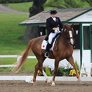 Annie Pier Venne and SpringTyme at the 2010 Equivents Spring Classic in Milton, Ontario.