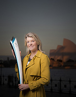 Kitty Chiller , Chef De Mission for the Australian Olympic Committee.