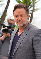 Actor Russell Crowe at the The Nice Guys film photo call at the 69th Cannes Film Festival Sunday 15th May 2016, Cannes, France. Photography: Doreen Kennedy