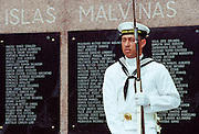 The Malvinas Monument In Buenos Aires, Argentina to commemorate Argentine soldiers who died In The Falklands War