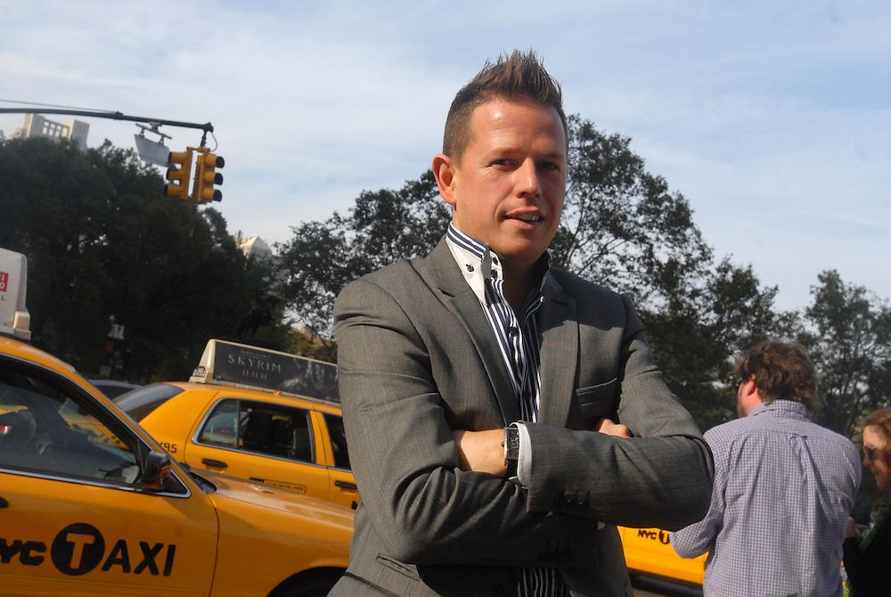HSBC - Thought Exchange New York - exchange finalists visit Verrex in Mountainside, NJ. Gareth Frankland (CEO, ACDC)