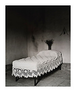 """Bed, 1990/1999"" £1500* GBP. Artist's Proof. Image Size: 24.5cm x 30cm, Paper Size 30cm x 40cm, selenium toned silver gelatin print. Each silver gelatin print has been split-selenium toned using archival methods and is stamped, titled, signed on the reverse. Please email me at info@simon-larbalestier.co.uk for availability and shipping info. All prints are shipped from the United Kingdom. *Stated price does not include shipping."