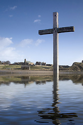 July 21, 2019 - Cross In Water, Bewick, England (Credit Image: © John Short/Design Pics via ZUMA Wire)