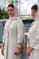 Actress Sareh Bayat and director Ida Panahandeh at the Nahid film photo call at the 68th Cannes Film Festival Sunday May 17th 2015, Cannes, France.