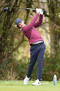 Tommy Fleetwood of England pays an approach shot during the British Masters 2018 at Walton Heath Golf Course, Walton On the Hill, Surrey  on 11 October 2018. Picture by Martin Cole.