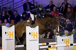 Thijssen Sanne, NED, Captain Cooper<br /> Indoor Brabant - Den Bosch 2017<br /> © Hippo Foto - Dirk Caremans<br /> 10/03/2017