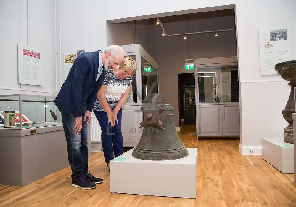 30.05. 2017.                                             <br /> Limerick Museum opened the doors to its new home at the former Franciscan Friary on Henry Street in the heart of Limerick city, dedicated to the memory of Jim Kemmy, the former Democratic Socialist Party and Labour Party TD for Limerick East and two-time Mayor of Limerick.<br /> <br /> Pictured at the opening of the Museum were, Natalie Pontus and Andrew Yelverton.<br /> <br /> The museum will house one of the largest collections of any Irish museum. Picture: Alan Place