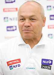 Coach Vincencij  Jovan of Slovenian National team at press conference before new alpine ski season 2009/2010,  on October 19, 2009, in BTC, Ljubljana, Slovenia.   (Photo by Vid Ponikvar / Sportida)