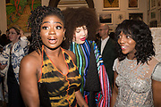 BRENDA EMMANUS, CLARA AMFO, ZEZI IFORE, Royal Academy of arts summer exhibition summer party. Piccadilly. London. 4 June 2019